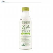 가정배달) 옳은 유기농 우유 750㎖ (4주간 8개 배송)
