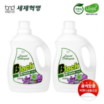 [세제혁명]블랙 액체세제 3L 2통