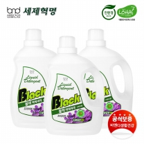 [세제혁명]블랙 액체세제 3L 3통
