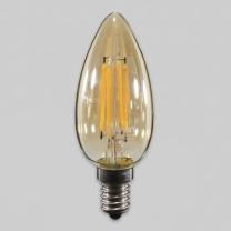 [바보사랑]LED 에디슨 촛대구 비츠온 4W E14 전구 KS에디슨램프