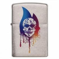 [바보사랑][ZIPPO] 29721 Skull Flame