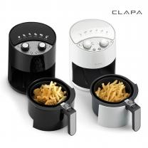 클래파_ CLAPA 에어프라이어 BFB-AF20W /BL (타이머,2ℓ)