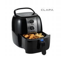 클래파_ CLAPA 에어프라이어 BFB-AF25BL (블랙,타이머,2.5ℓ)
