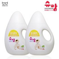 [세제혁명]슈맘 유아전용 세탁세제 2통