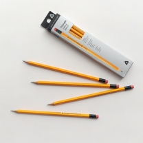 [바보사랑]3000 노랑 삼각 연필 10본세트 ver2