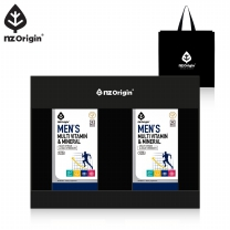 [엔젯오리진][선물포장] 맨즈 멀티비타민&미네랄(1,250mgX90정)X2통