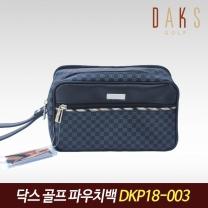 닥스골프 정품 2018 골프 파우치 블랙 DKP18-003