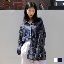 [바보사랑]페이즐리 패턴 남방 (2colors)