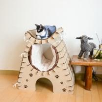 [바보사랑]고양이 캣타워 하우스 키티 어바웃