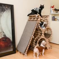 [바보사랑]네꼬모리 고양이 캣타워 키티맨션 전용 스크래쳐보드