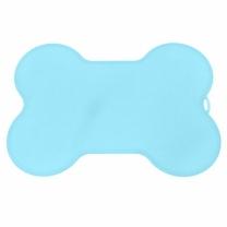 [바보사랑]수퍼펫 실리콘 매트 뼈다귀 블루