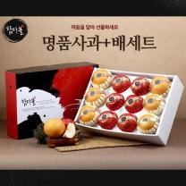 [명절선물]명품 사과+배세트 6kg(사과6+배6)