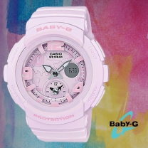 [BABY-G] 베이비지 BGA-190BC-4B 여성시계 우레탄밴드 디지털시계