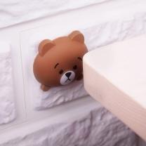 [바보사랑]애니멀 문소음방지 문쾅방지 쿠션 패드 3p