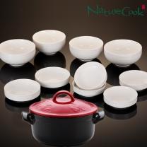 네오플램 글레비 내열냄비 반상기세트(무균열뚝배기+식기세트)