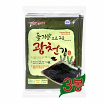 삼육수산 삼육김 광천들기름3번들 재래전장 (20gx3봉x10팩)