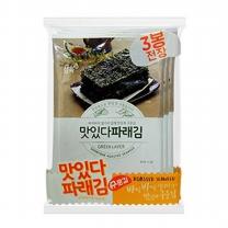 삼육수산 삼육김 맛있다파래 3번들 (20gx3봉x10팩)