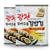 삼육수산 삼육김 구운 김밥김 10매x60봉