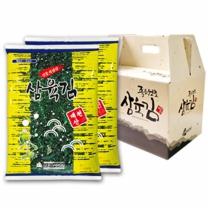 삼육수산 삼육김 선물세트 1호 - 재래전장 20gx10봉