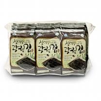 삼육수산 삼육김 광천파래김 9단 도시락