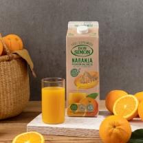 돈시몬 생과일 착즙 오렌지주스 2L
