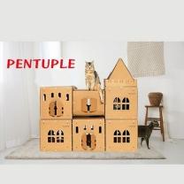 [바보사랑]DIY 고양이 캣 캐슬 팬터블
