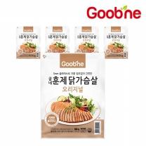 굽네 오리지널 훈제 닭가슴살 슬라이스 100g,5팩_AG18