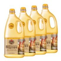 [CJ직배송]튀김전용유 1.8LX4개)