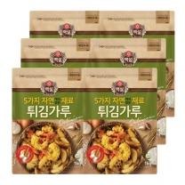 [CJ직배송]자연재료 튀김가루 1kg x 6개 (총 6KG)