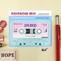 [바보사랑]Cassette Card Set_Rainbow Mix