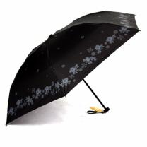 [바보사랑]일본 직수입 5단 양우산- 초초경량 양산 블랙모노 E822