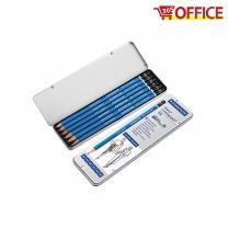 스테들러 마스 전문가용 연필 100 G6 (6본 세트)