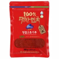 (인빌푸드)삼굿마을 청결고춧가루(보통맛) 500g