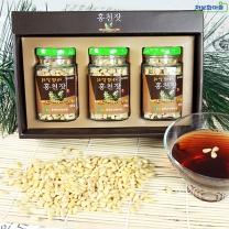 (인빌푸드)강원 홍천 잣(선물용) 300g(100gX3)