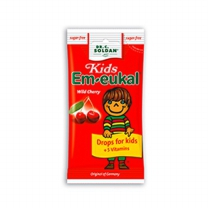 키즈 엠오이칼 무설탕팩 75g 체리맛