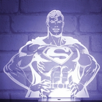 [바보사랑]DC코믹스 슈퍼맨 히어로 무드등