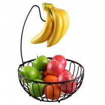 [크로바몰] 바나나걸이 겸용 과일바구니