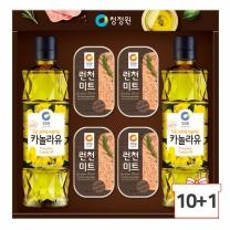 2018 청정원 추석선물세트 팜고급유7호 10세트+1세트증정