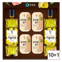 2018 청정원 추석선물세트 팜고급유6호 10세트+1세트증정