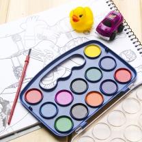 12색 물감세트 - 10p 어린이날선물 미술학원 고체물감