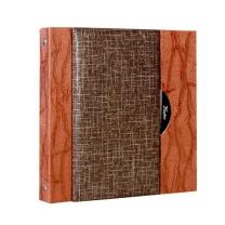 [바보사랑]칸나앨범 다게르15M 브라운 고급양장 중형 접착식 사진앨범