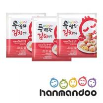 한만두 투명한 김치만두 물방울 420g 3봉