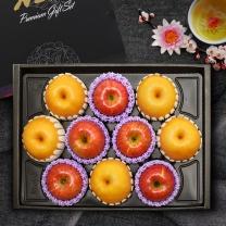 [퀵배송.서울전지역][보섭이네푸드] 한아름 사과배 혼합세트 6.0kg(사과5,배5)