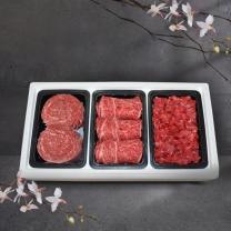 [냉장]한우드소 종합4호 한우정육세트(1+등급이상/꽃등심500g+불고기500g+국거리500g)