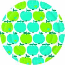 [바보사랑]접시 애플그린블루