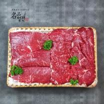 누리천하_ 최고급 한우 정육세트 (정육(설도) 1kg+채끝등심 1kg)