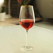 [바보사랑]Gold Rim Wine Glass 1P