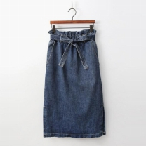 [바보사랑]Tulip Denim Skirt