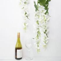 [바보사랑]화이트 델피니움 꽃 가지 98cm 조화