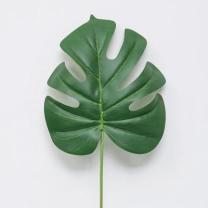 [바보사랑]트로피칼 몬스테라 잎 인조나무 조화가지
